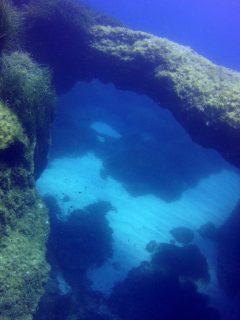 Cirkewwa Arch Reef Gozo