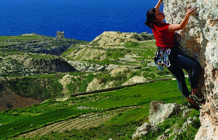 Abseiling Gozo