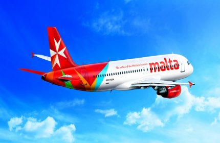 Air Malta flight
