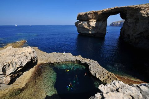 Azure Window Blue Hole