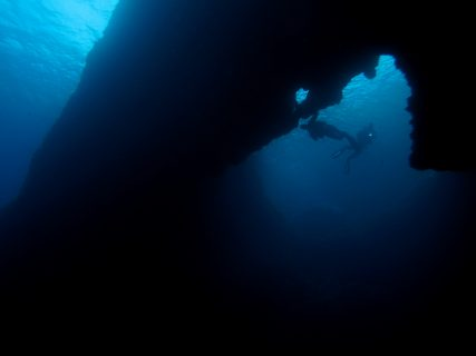 Blue Hole Diving