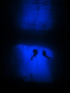 Cathedral Cave Diving