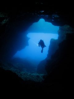 Gozo Diving There are many caves to explore