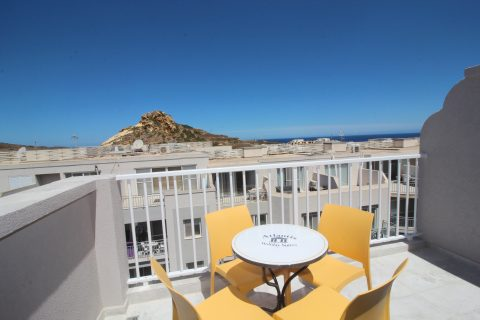 View from penthouse terrace