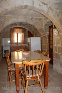 Pepprina Farmhouse Gozo Dining Room