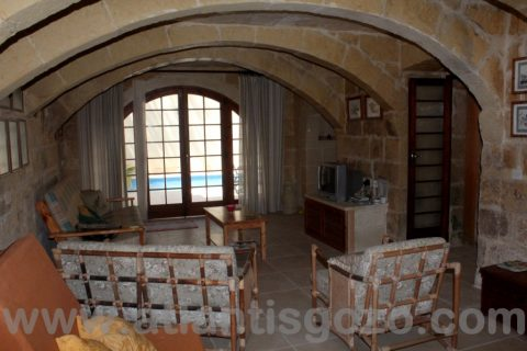 Pepprina Farmhouse Living Room Area