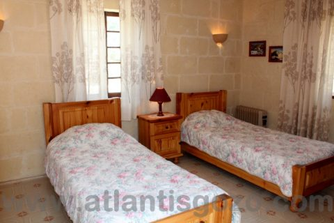 Pepprina Farmhouse Gozo Bedroom