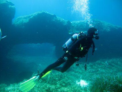 Santa Maria Caves gozo diving