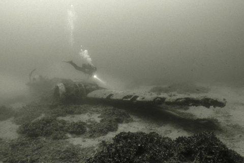 Blenheim Bomber Gozo Diving