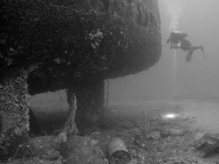 Wreck HMS Southwould Gozo Diver