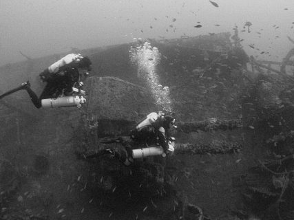 HMS Southwould Diving Wreck Malta