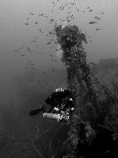 Greyscale Soutwould HMS Gozo