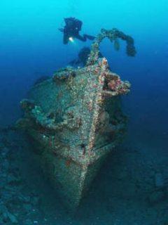 HMS St Angelo Diver