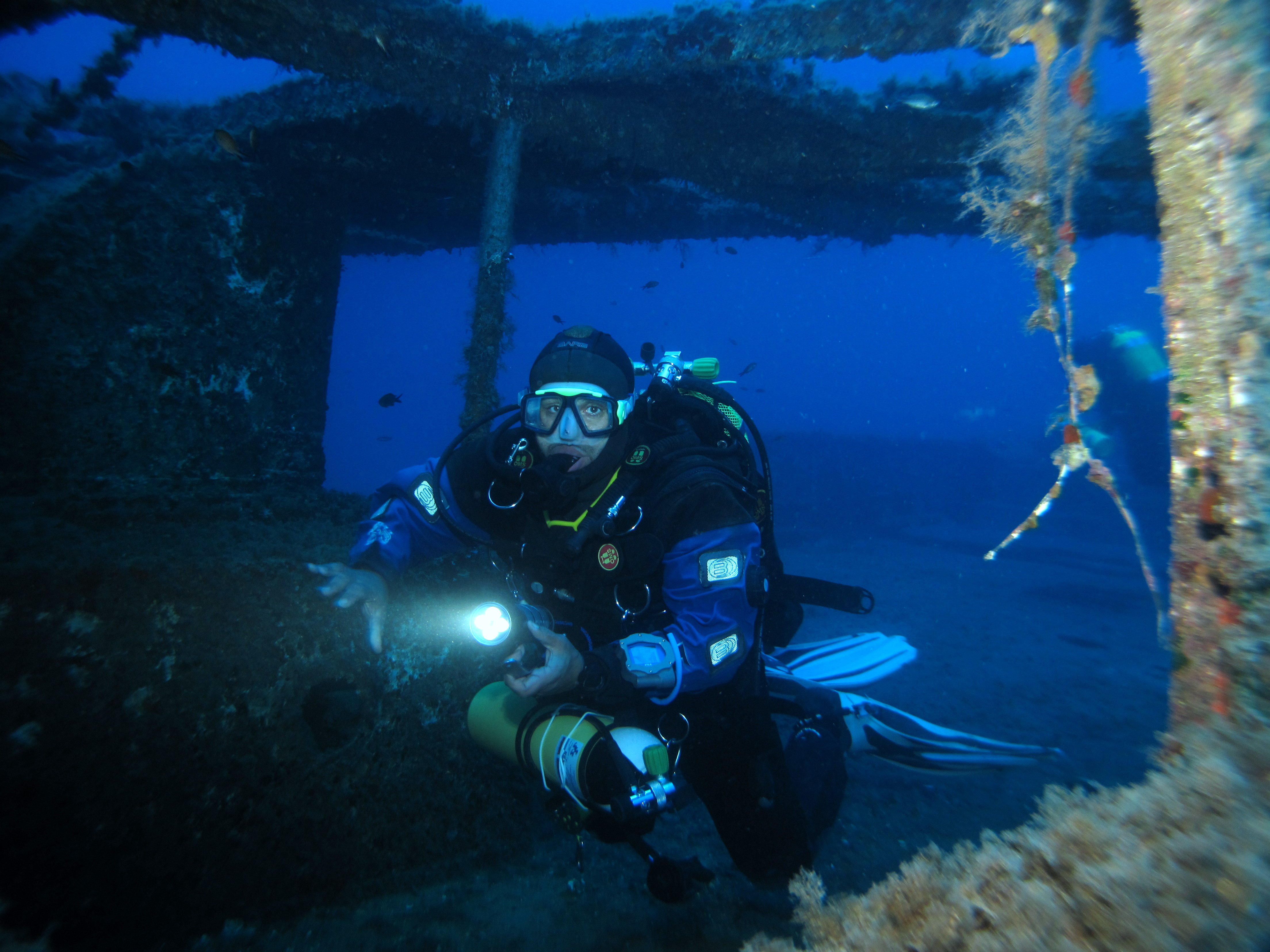 Imperial eagle wreck malta for Gozo dive centres