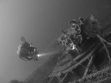 Wreck le Polynesien Dive Site Malta