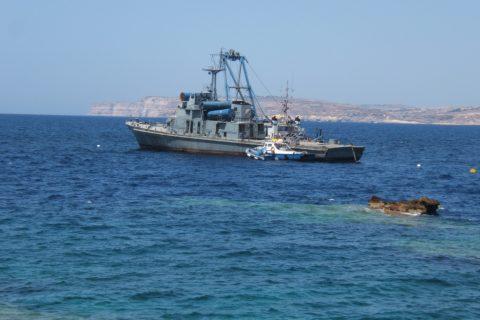 diving wreck p29 circkewwa Malta