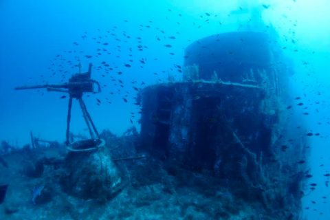 wreck p29 gozo diving