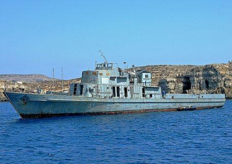 wreck p31 comino malta