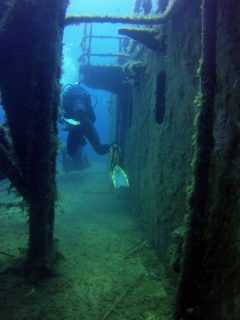 Diving Wreck Gozo