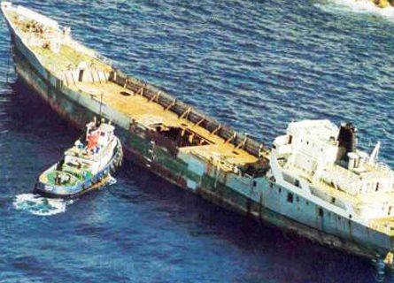 Diving Wreck Um El Faroud Malta