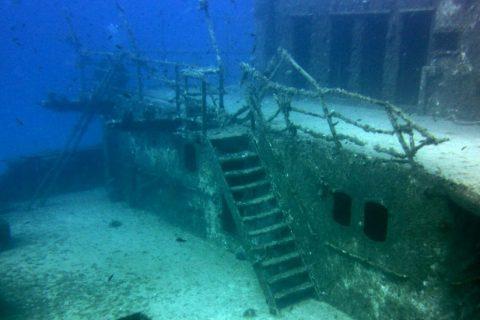wreck um el faroud gozo diving
