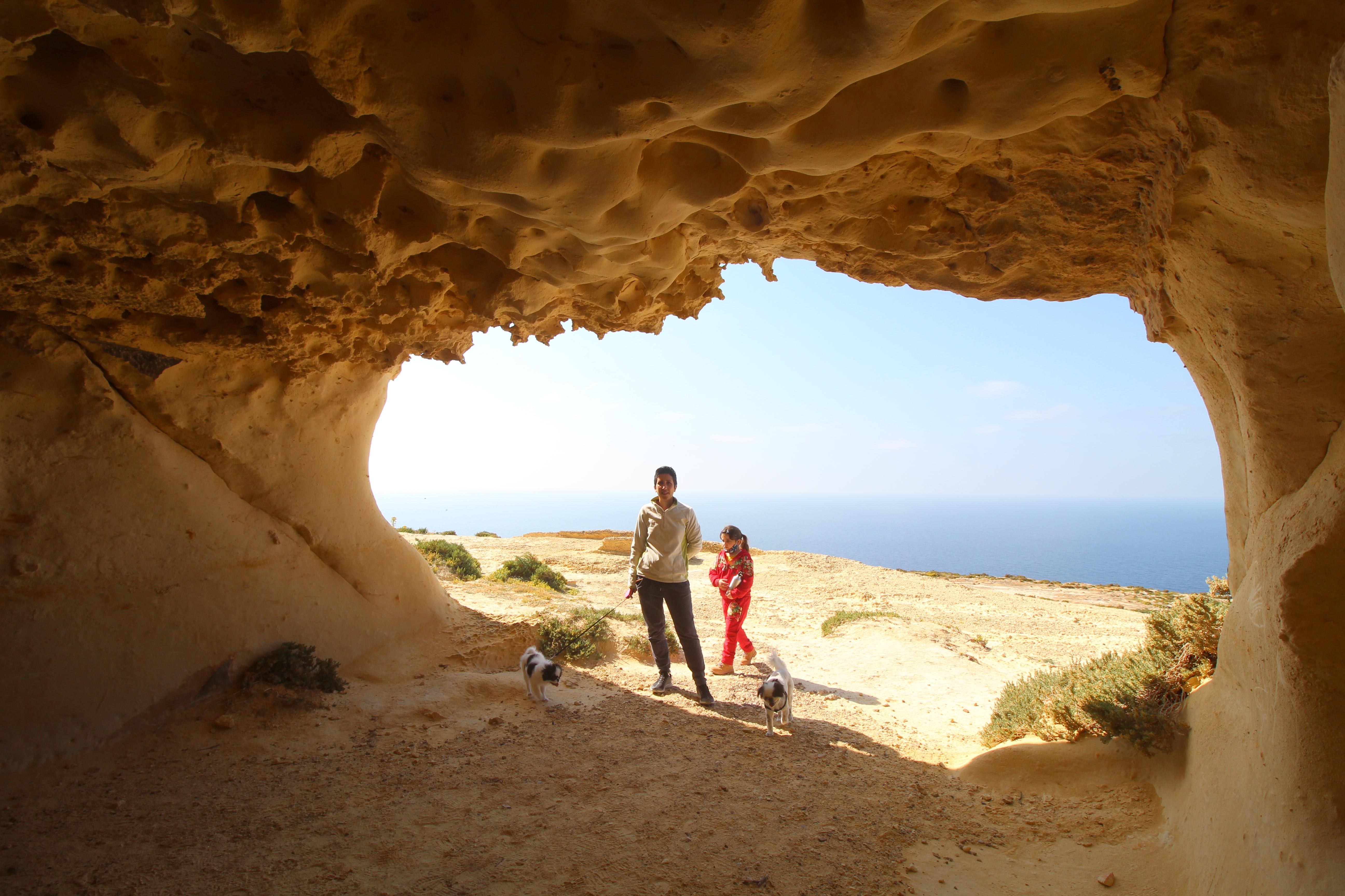 Ras il-Wardija cave 4