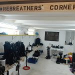 Rebreather Corner - satisfied guests